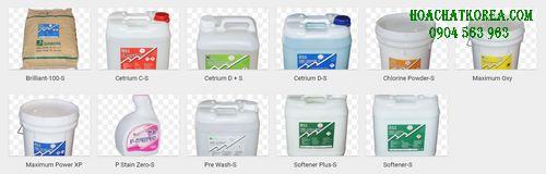 Bộ Hóa chất giặt là công nghiệp Hàn Quốc