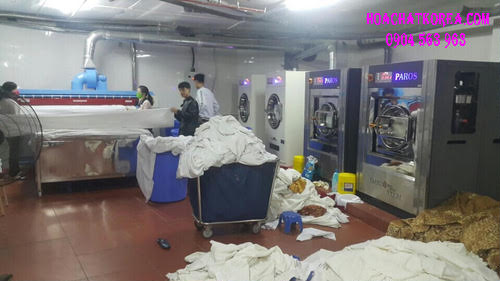 Chất nước giặt công nghiệp cho xưởng giặt nhà giặt công nghiệp nhập khẩu Hàn Quốc
