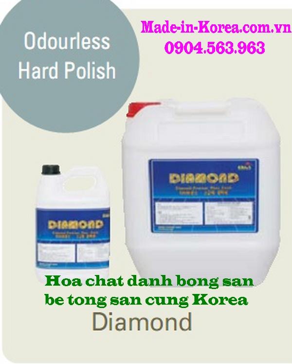 Hóa chất đánh bóng sàn bê tông sàn cứng Korea Diamond