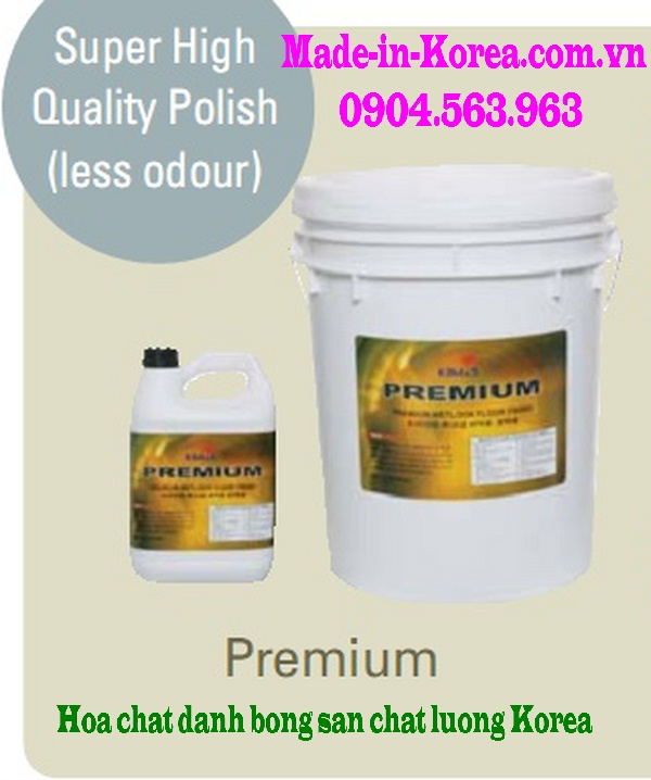 Hóa chất đánh bóng sàn chất lượng Korea Premium