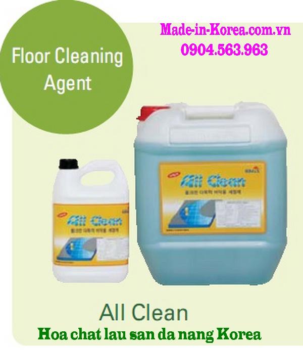 Hóa chất lau sàn đa năng Korea All Clean