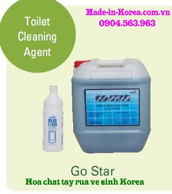 Hóa chất tẩy rửa vệ sinh Korea Go Star