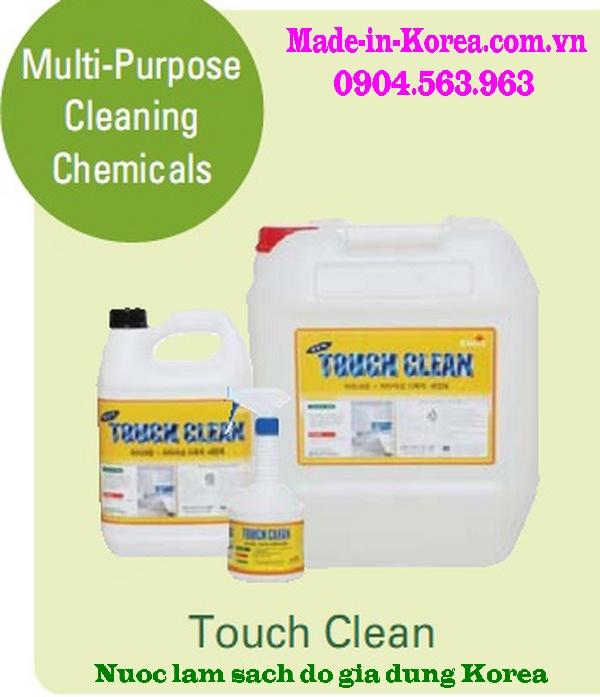 Hóa chất làm sạch đồ gia dụng Korea Touch Clean