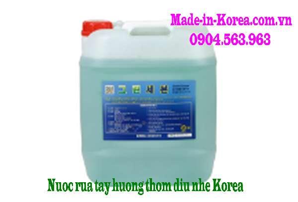 Nước rửa tay hương thơm dịu nhẹ Korea Green Savon