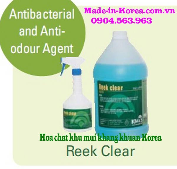 Hóa chất khử mùi kháng khuẩn Korea