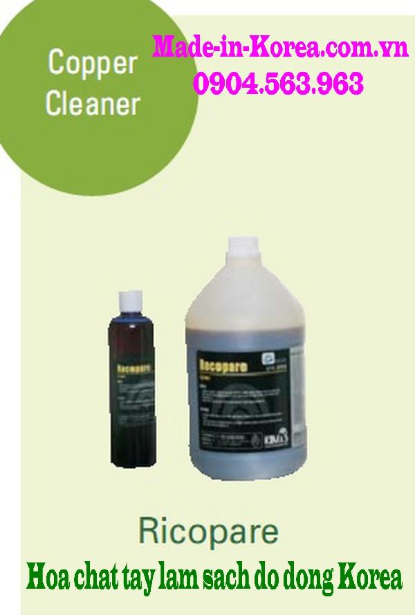 Hóa chất tẩy làm sạch đồ đồng Korea Recopare