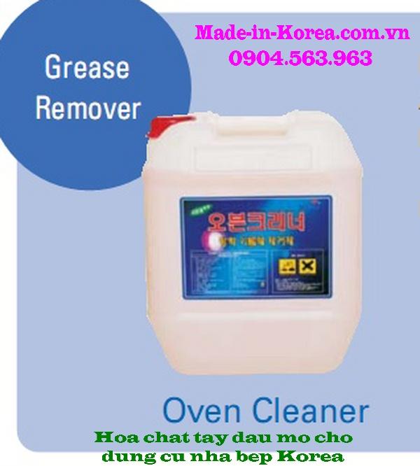 Hóa chất tẩy rửa dầu mỡ cho dụng cụ nhà bếp Oven Cleaner