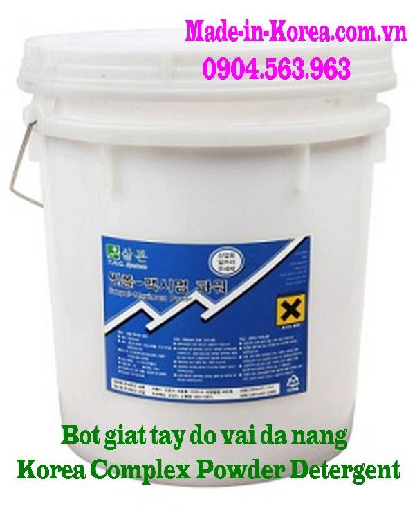 Bột giặt tẩy đa năng Korea Complex Powder detergent