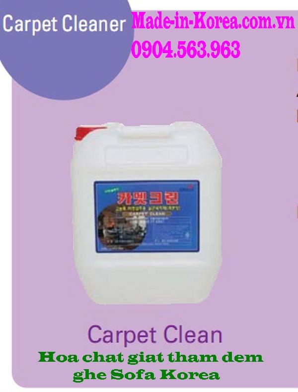 Hoá chất giặt thảm đệm ghế Sofa Korea Carpet Clean