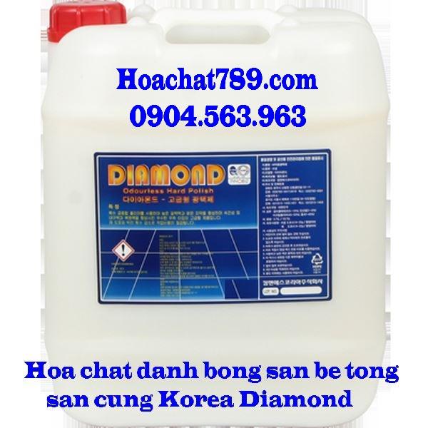 Hóa chất đánh bóng sàn bê tông sàn cứng Diamond