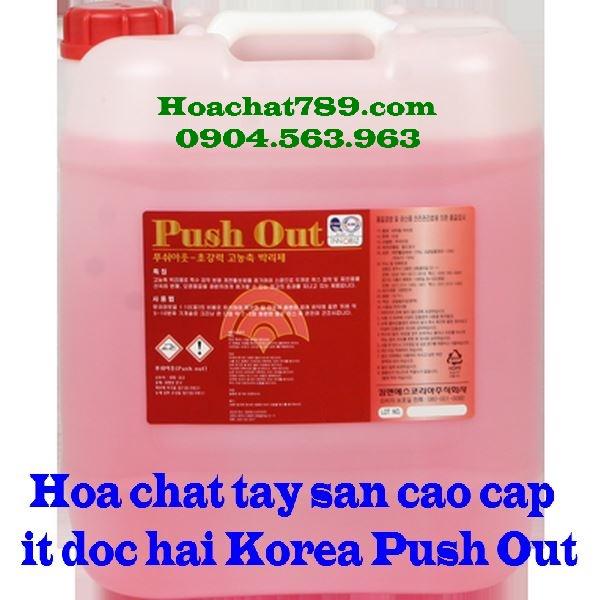Hóa chất tẩy sàn cao cấp an toàn Push out Korea