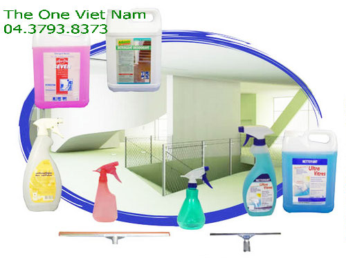 Provides industrial laundry chemicals