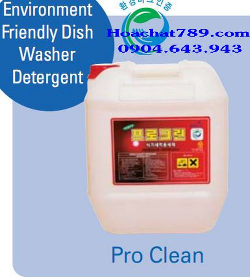 Environment Friendly Dish Washer Detergent PRO CLEAN