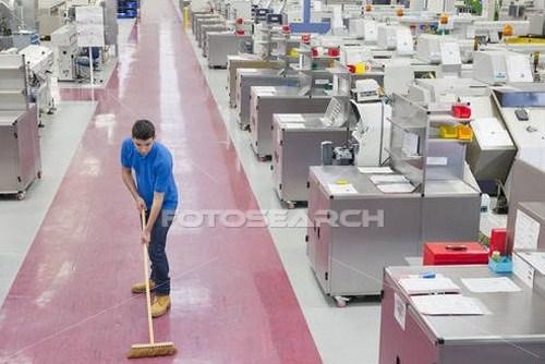 Hóa chất vệ sinh nhà xưởng công nghiệp
