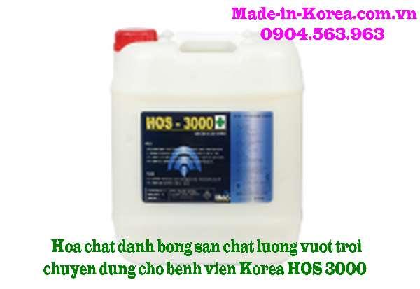Hóa chất đánh bóng sàn vượt trội chuyên dụng cho bệnh viện HOS 3000