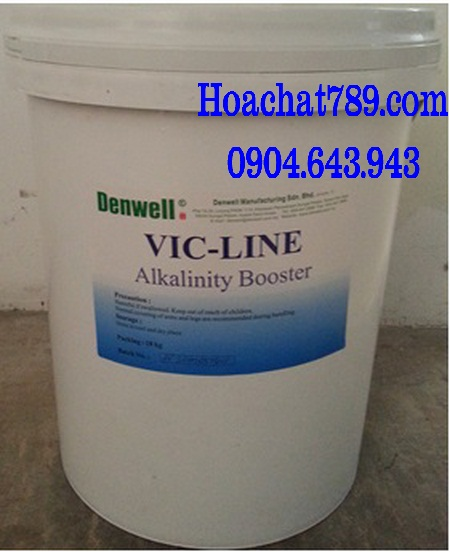 Powder laundry alkalinity VIC LINE