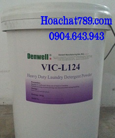 Laundry detergent powder VIC L124