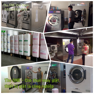 Rental of industrial washing machines