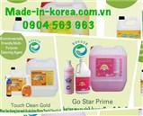 Chất tẩy rửa đậm đặc dùng trong vệ sinh làm sạch công nghiệp