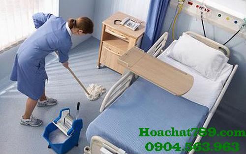 Hóa chất vệ sinh công nghiệp sử dụng trong bệnh viện