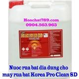 Nước rửa chén dùng cho máy rửa bát công nghiệp Hàn Quốc