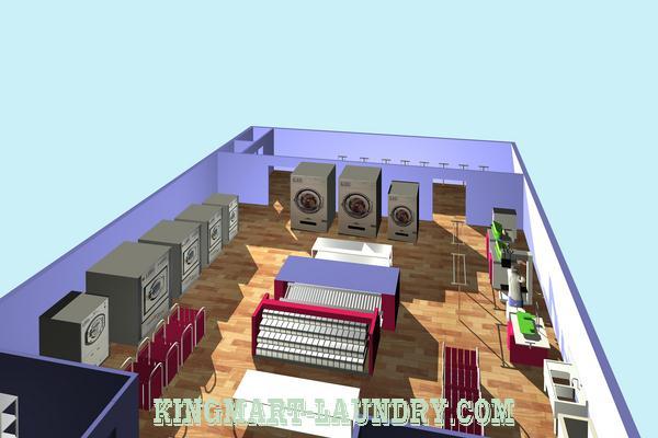 Mô hình xưởng giặt là công nghiệp ở Đà Nẵng